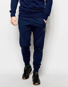 Облегающие темно-синие джоггеры Reebok Club AK1175 - Синий