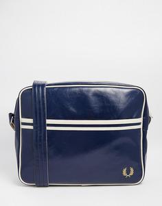 Классическая сумка почтальона Fred Perry - Синий
