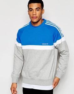 Свитшот adidas Originals Itasca AJ6980 - Серый