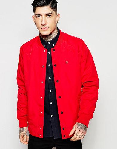 Водонепроницаемая куртка-пилот Farah - Красный