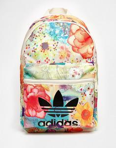 Рюкзак с цветочным принтом adidas Originals x Farm - Цветной