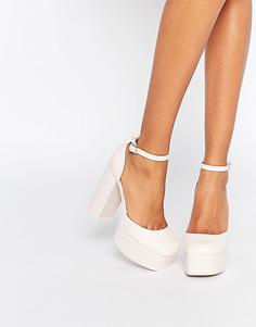 Туфли на платформе ASOS PABLO - Бледно-розовый