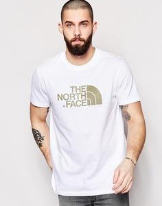 Футболка с логотипом The North Face Easy - Белый