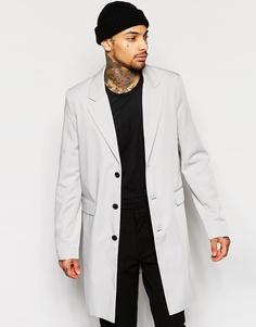 Серое легкое пальто ASOS - Серый