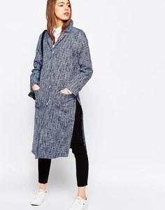 Пальто в джинсовом стиле ASOS - Голубой джинсовый