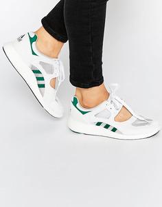 Белые кроссовки adidas Originals Equipment 91 - Белый