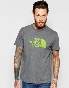 Футболка с логотипом The North Face Easy - Умеренный серый