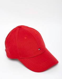 Классическая бейсболка Tommy Hilfiger - Красный