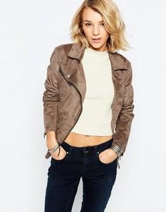 Полиуретановая куртка с поясом Only - Falcon