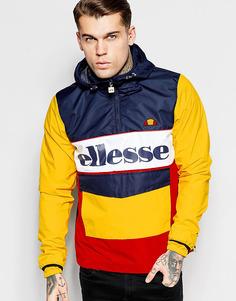 Куртка через голову с большим логотипом Ellesse - Желтый