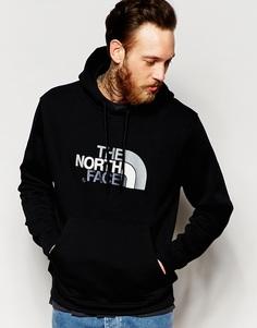 Худи через голову с логотипом The North Face - Черный