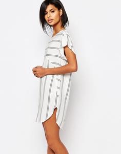 Цельнокройное платье в полоску Vero Moda - Мульти