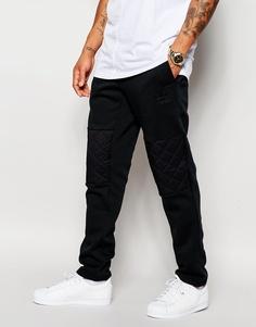 Стеганые джоггеры adidas Originals AJ7883 - Черный