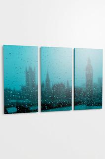"""Панно """"Дождь в Лондоне"""" Pannorama"""