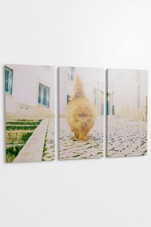 "Панно ""Рыжий кот"", 3пр. Pannorama"