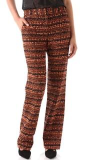Широкие брюки из букле Willow