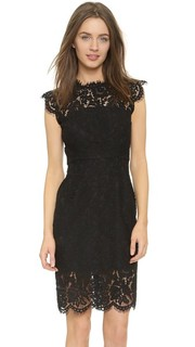 Suzette Fitted Dress Rachel Zoe