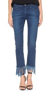 Укороченные джинсы WM3 из денима с каймой 3x1