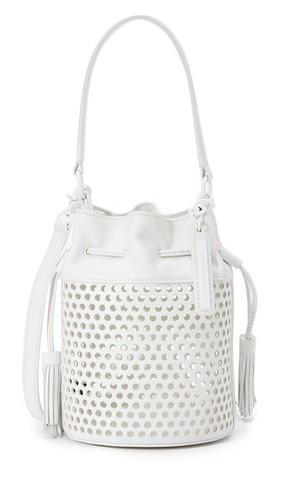 Миниатюрная перфорированная сумка-ведро Industry