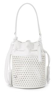 Миниатюрная перфорированная сумка-ведро Industry Loeffler Randall