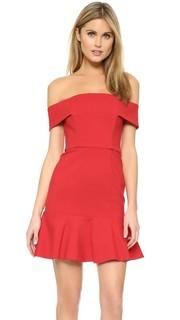 Мини-платье с открытыми плечами N/Nicholas