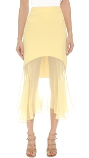 Шелковая юбка Prabal Gurung