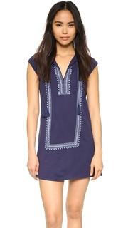 Платье с вышивкой Yadon Soft Joie