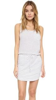 Платье без рукавов в полоску Sundry