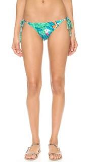 Двусторонние плавки бикини на завязках Leaf Mara Hoffman