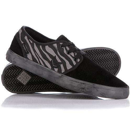 Кеды кроссовки низкие VOX Slacker Black Zebra
