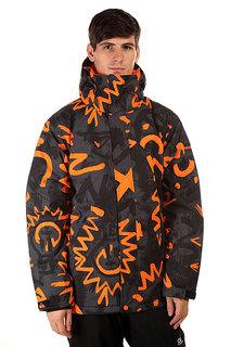 Куртка Quiksilver Mission Print Cave Rave Black