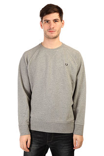 Толстовка свитшот Fred Perry Loopback Crew Sweat Grey