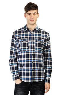 Рубашка в клетку Anteater Flshirt Navy