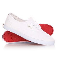 Кеды кроссовки низкие женские Levis Palmdale Lace Up Brilliant White Levi's®