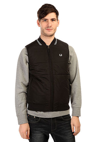 Жилетка Fred Perry Twin Tipped Gilet Black
