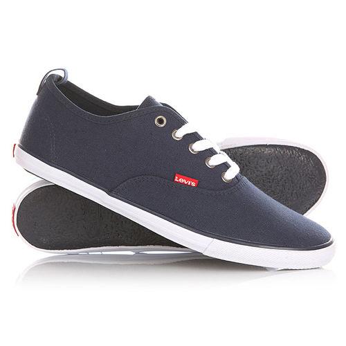 Кеды кроссовки низкие Levis Negroni Navy Blue