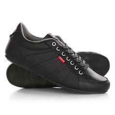 Кеды кроссовки низкие Levis Vail Regular Black Levi's®