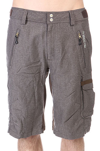 Шорты Animal Strtch/ Woven Bike Short - Heavy Weight. True Grey