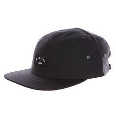 Бейсболка пятипанелька Quiksilver Sidebend Hats Tarmac