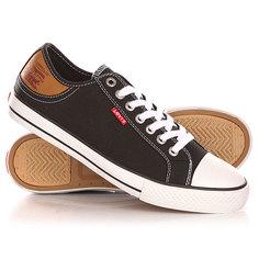 Кеды кроссовки низкие Levis Stan Buck Regular Black Levi's®