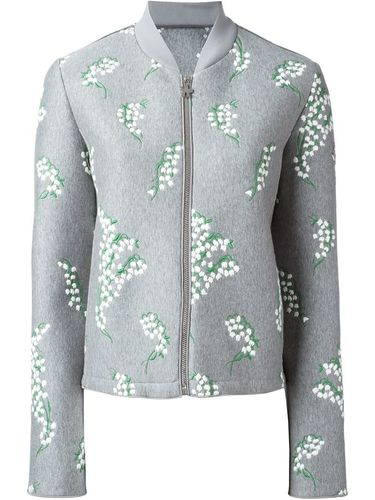 embroidered bomber jacket Moncler Gamme Rouge