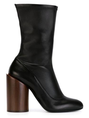 сапоги на массивном каблуке Givenchy