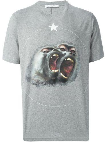футболка с принтом бабуинов Givenchy