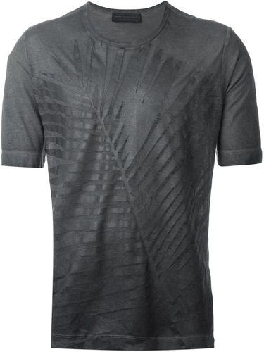 футболка с принтом листа Diesel Black Gold
