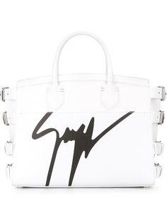 сумка-тоут с подписью-логотипом Giuseppe Zanotti Design
