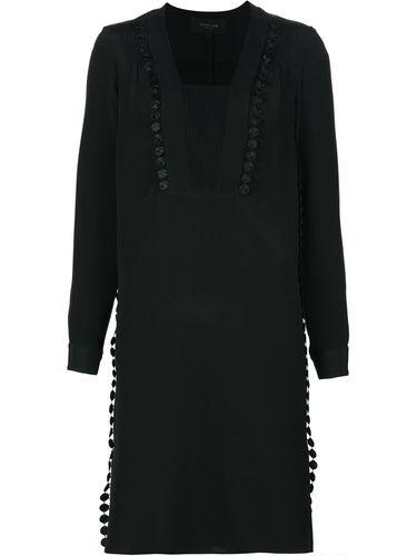 платье шифт с длинными рукавами Derek Lam
