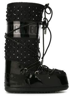 декорированный сапоги Jimmy Choo x Moon Boot Moon Boot