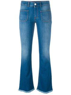 расклешенные джинсы  Stella McCartney