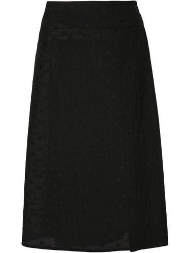 юбка с запахом в горошек  Alexandre Plokhov
