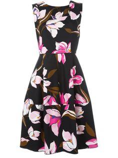 платье с цветочным принтом Salvatore Ferragamo